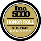 inc 5000 6 time honoree