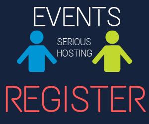 register for hosting events