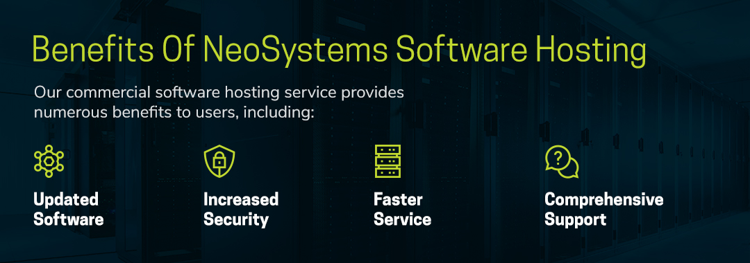 benefits of NeoSystems' software hosting services