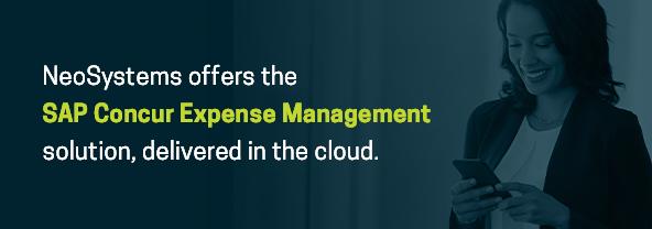 SAP Concur Expense Management solutions
