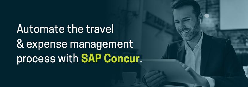 Automate Expenses with SAP Concur