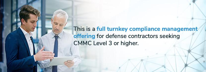 full turnkey cmmc compliance management