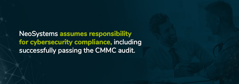 neosystems assumes responsibility for cmmc compliance