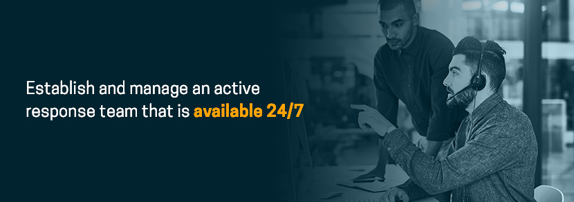 CMMC level 5 requires an active response team that is available 24/7