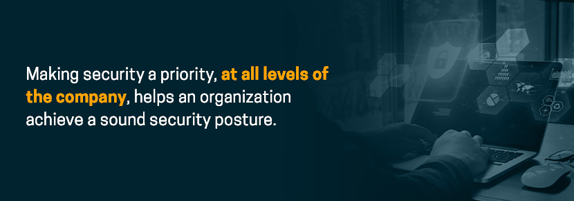 Security should be a priority at all levels of the company