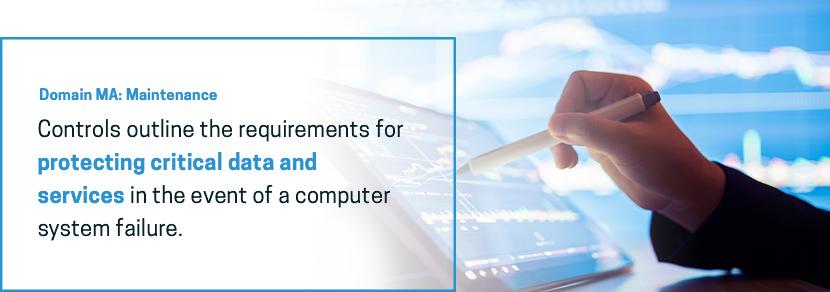 Domain MA: Maintenance Controls
